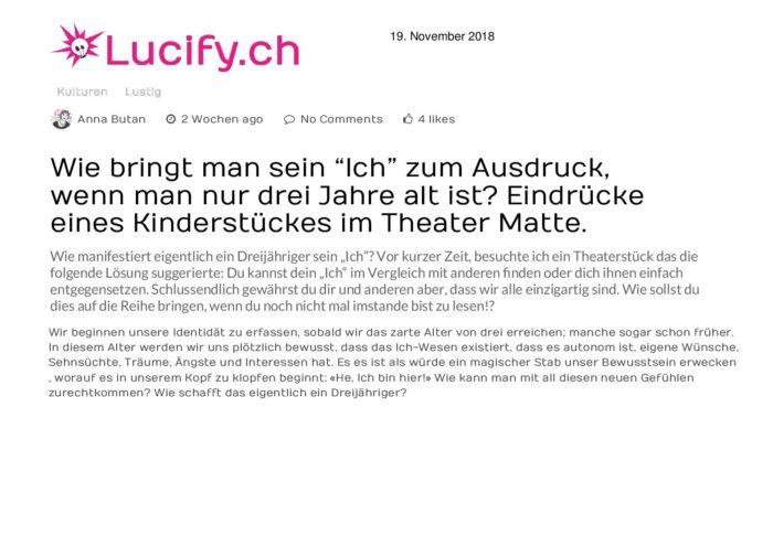 Daskleineichlucifych20181119 Theater Matte Bern